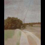 Fontvert à Lourmarin, 100cmx81cm, huile sur toile, 2012