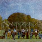 116cmx89cm, huile sur toile, 1987