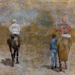 55cmx38cm, huile sur toile, 1988