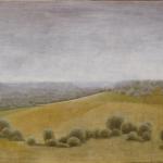 162cmx97cm, huile sur toile, 1993