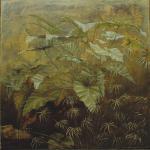 40cmx40cm, huile sur toile, 1992
