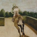 46cmx33cm, huile sur toile, 1989