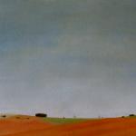 41cmx27cm, huile sur toile, 1996