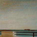 50cmx50cm, huile sur toile, 1996