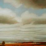 40cmx40cm, huile sur toile, 1996