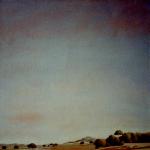 50cmx50cm, huile sur toile, 1995