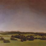 Panoramique de San Sebastian, 250cmx160cm, huile sur toile marouflée sur bois, 1997