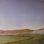 Panoramique de San Sebastian, 90cmx160cm, huile sur toile marouflée sur bois, 1997