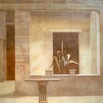 Roma, 100cmx100cm, huile sur toile, 1999