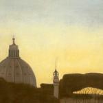 Roma, 150cmx50cm, huile sur toile, 1998