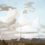 Roma, 67cmx35cm, huile sur toile, 1998