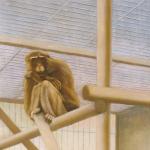 30cmx30cm, huile sur toile, 1998