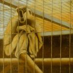 35cmx35cm, huile sur toile, 1998