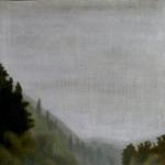 80cmx80cm, huile sur toile, 2002