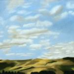 100cmx50cm, huile sur toile, 2001