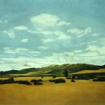 Buitrago, 195cmx130cm, huile sur toile, 2001