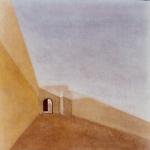 Paysages du Maroc , 50cmx50cm, huile sur toile, 2004
