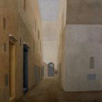 Paysages du Maroc , 150cmx96cm, huile sur toile, 2004