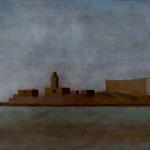 Paysages du Maroc , 70cmx35cm, huile sur toile, 2003
