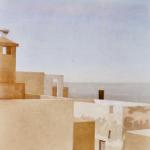 Essaouira, 60cmx60cm, huile sur toile, 2003