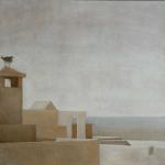 Essaouira, 50cmx50cm, huile sur toile, 2002