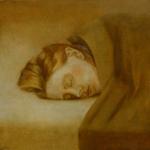 Paloma , 35cmx35cm, huile sur toile, 2001