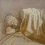 Roberto , 40cmx40cm, huile sur toile, 2001