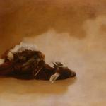 Chèvre, 100cmX65cm, huile sur toile, 2002