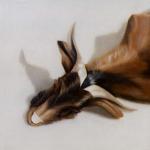 Chèvre, 35cmX35cm, huile sur toile, 2003