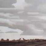 Vue de Madrid, 130cmx97cm, huile sur toile, 2004