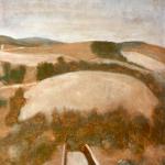 Abrantes, 32,5cmx50cm, huile sur papier préparé, 2004