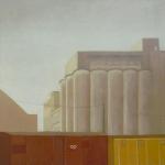 Abrantes, 50cmx50cm, huile sur toile, 2004