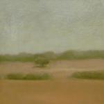Abrantes, 13,5cmx13,5cm, huile sur papier préparé, 2004