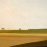 Paysages, 90cmx30cm, huile sur toile, 2006