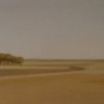 Paysages, 60cmx20cm, huile sur toile, 2007