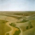 Paysages, 92cmx73cm, huile sur toile, 2007