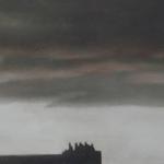 Ciel de Paris, 90cmx30cm, huile sur toile, 2010