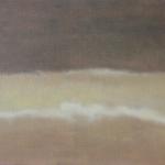 Ciel de Paris, 40cmx30cm, huile sur toile, 2009