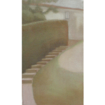 Fontvert à Lourmarin, 22cmx16cm, huile sur toile, 2012