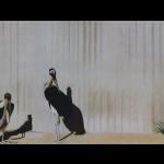Marabout, 100cmx50cm, huile sur toile, 1998