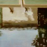 Fontvert à Lourmarin, 25cmx25cm, huile sur toile, 2012