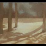 Fontvert à Lourmarin, 27cmx16cm, huile sur toile, 2012