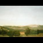 Fontvert à Lourmarin, 195cmX97cm, huile sur toile, 2006