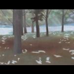 Fontvert à Lourmarin, 60cmx30cm, huile sur toile, 2012