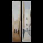 Paysages du Maroc, (129,5cmX28cm) x2, 2004