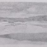 32cmx12,5cm, fusain et mine de plomb sur papier, 2004