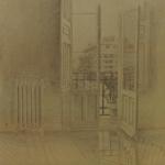 25,5cmx25,5cm, mine de plomb sur papier, 1996