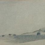 36cmx12cm, mine de plomb sur papier, 1996