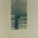 12cmx24cm, fusain et mine de plomb sur papier, 1997