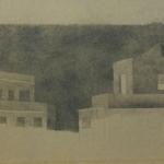 50cmx21cm, mine de plomb sur carton, 1997